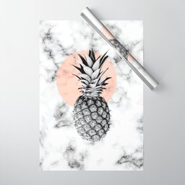 Marble Pineapple 053 Wrapping Paper