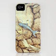 Ode to the Blue Koi iPhone (4, 4s) Slim Case