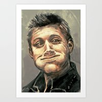 hunter Art Prints featuring Hunter by why would you buy any of these