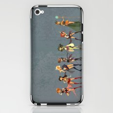 Sailors Assemble! iPhone & iPod Skin