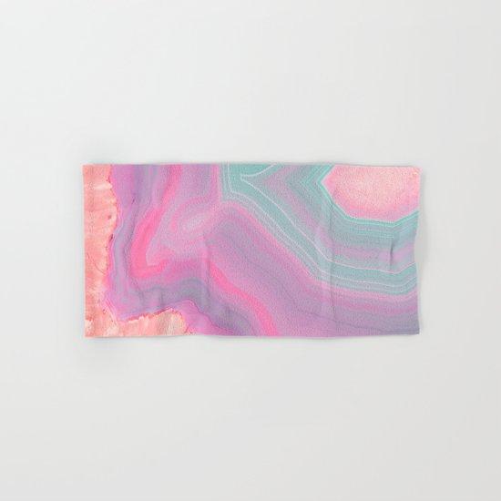Agate Summer Texture Hand & Bath Towel