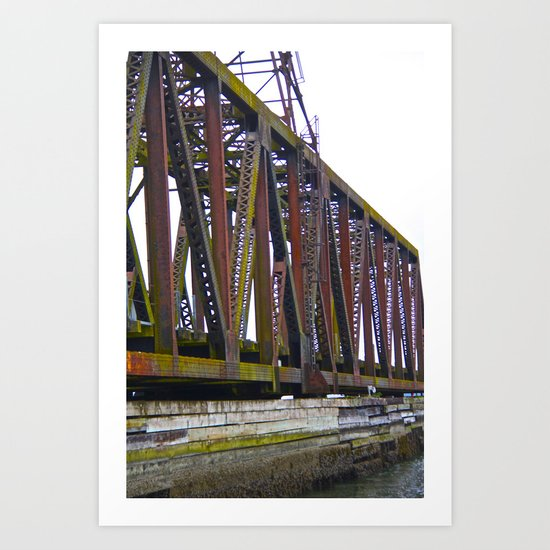 The Many Shades of Rust Art Print