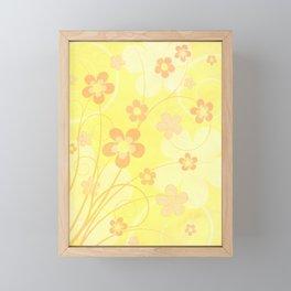 Summer floral Framed Mini Art Print