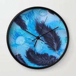 Lunar Skies Wall Clock