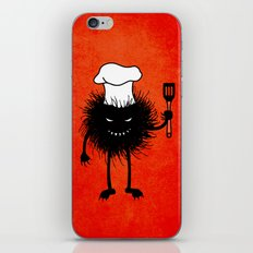 Evil Bug Chef Loves To Cook iPhone & iPod Skin