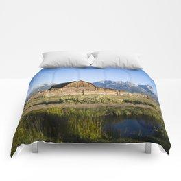Mormon Row Grand Tetons Comforters