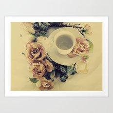 Tea Please... Art Print