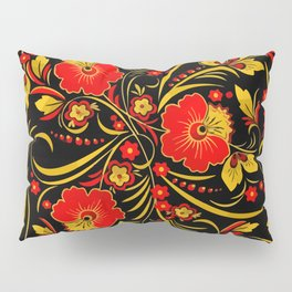 Russian khokhloma Pillow Sham