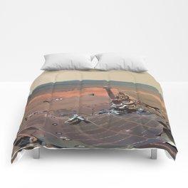 Mars - Greeley Panorama Comforters