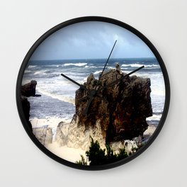 Sea Foam #2 Wall Clock
