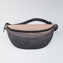 Mountain Morning IV Fanny Pack