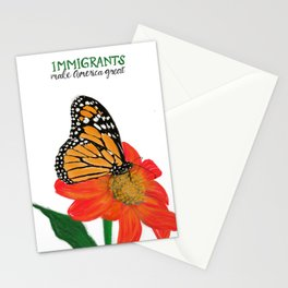 Immigrants Make America Great Stationery Cards