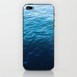 Ocean Blue iPhone Skin