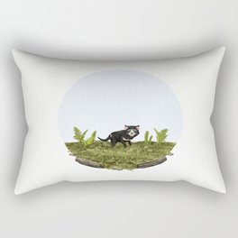 Tasmanian devil (Sarcophilus harrisii) Rectangular Pillow