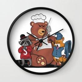 Pet Revengers Wall Clock