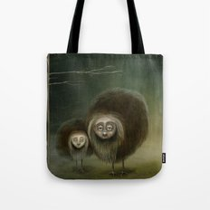Mabel and Mo Tote Bag