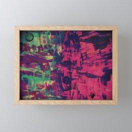 Filaments of Time Framed Mini Art Print
