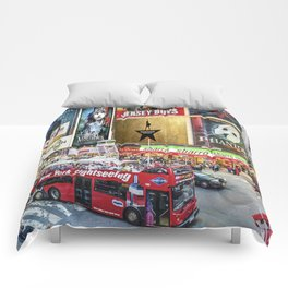 Times Square II Comforters