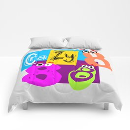 Crazy Eights Comforters