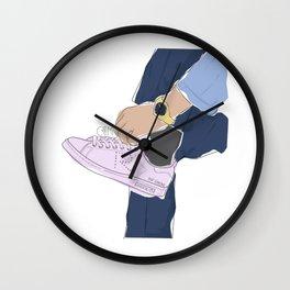 Sneakers Raf Simons Wall Clock