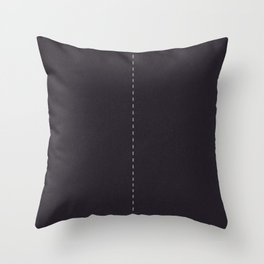Road Two lanes Throw Pillow