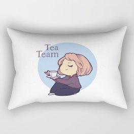 Tea Team Rectangular Pillow