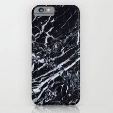 Real Marble Black Slim Case iPhone 6