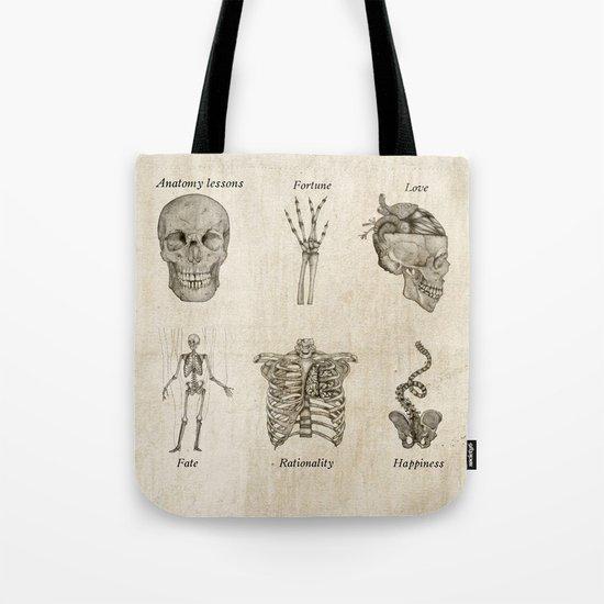 Anatomy lessons Tote Bag