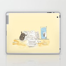 Sheeps loves papers Laptop & iPad Skin