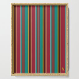 Stripes of Chippewa Serving Tray