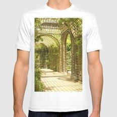 Gardens of Versailles MEDIUM White Mens Fitted Tee