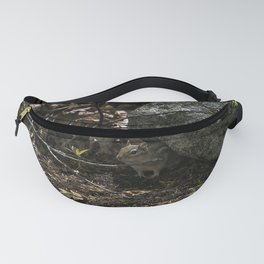 chipmunk playing hide and seek Fanny Pack
