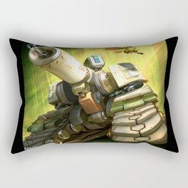 over bastion Rectangular Pillow