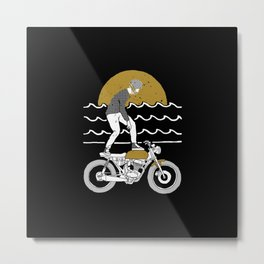 Ride Surf Metal Print