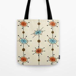 Atomic Era Satellites Tote Bag