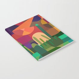 Botanical Wonderland - Cactus Garden Bybrije Notebook