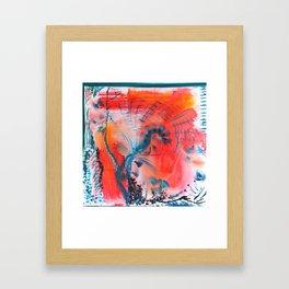 Joyous Lines Framed Art Print