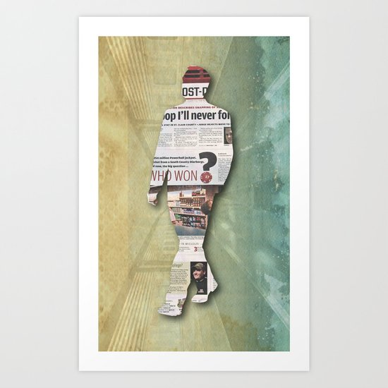 platform 1 Art Print
