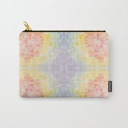 Watercolor Spider Web Carry-All Pouch
