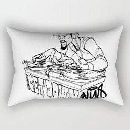 Scribbling Rectangular Pillow
