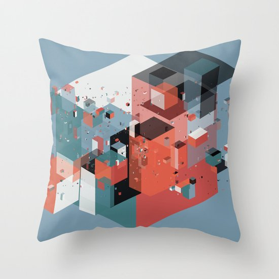 Scatter 4 Throw Pillow