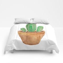 Succulent Cacti Comforters