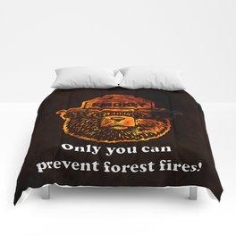 Smokey the Bear Comforters