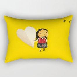 Share your Heart Rectangular Pillow