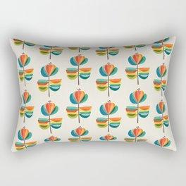 Whimsical Bloom Rectangular Pillow