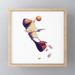 Fantasy Moogle Framed Mini Art Print