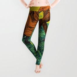 SNAKE CHARMER Leggings