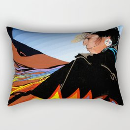 Shawl Dancer Rectangular Pillow