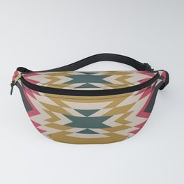 Bohemian Style Geometric Pattern Fanny Pack