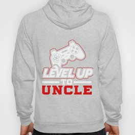 Leveled Up To Uncle product, Gamer design, Uncle Tee Hoody